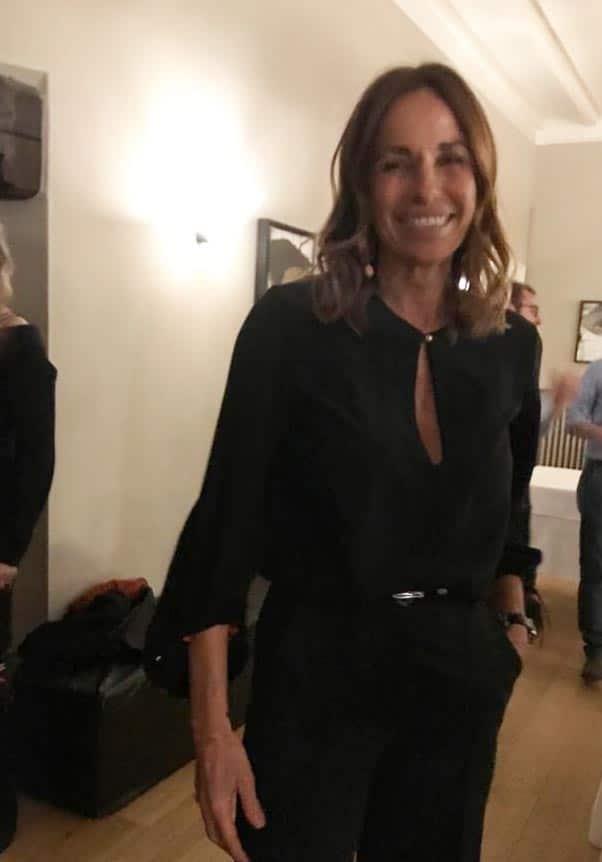 Cristina Parodi sceglie la collezione Pourquoi Me di Elena Montagano